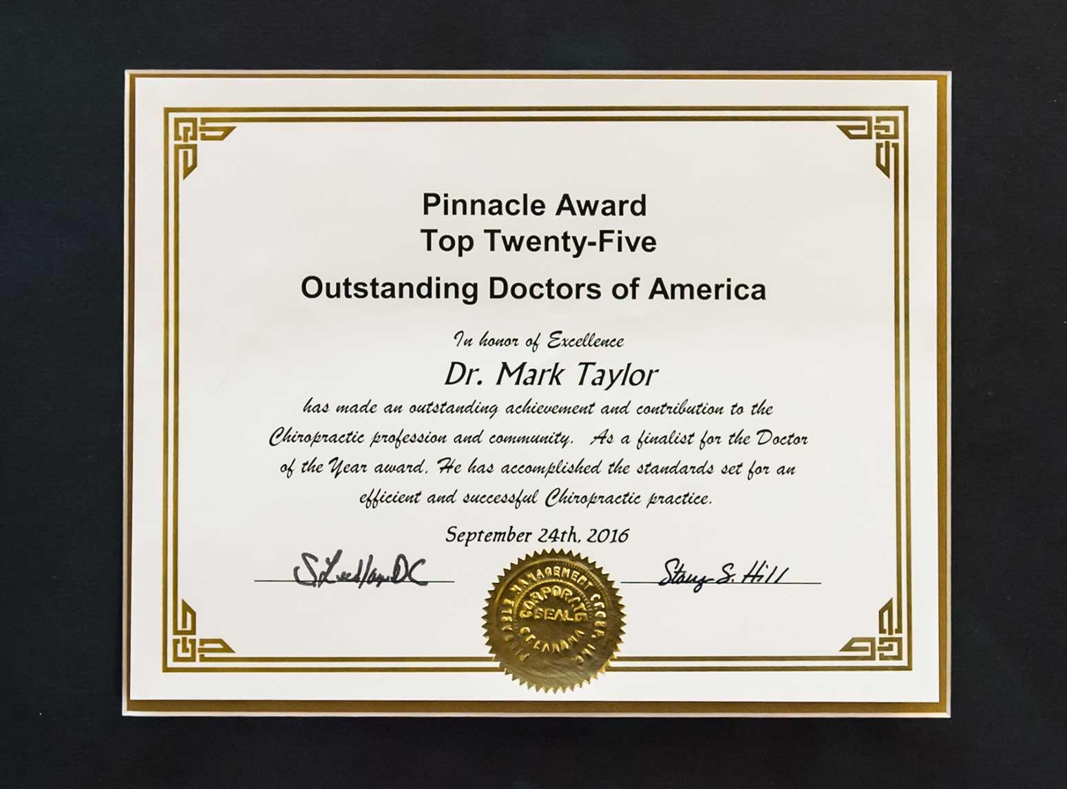 top-chiropractor-award
